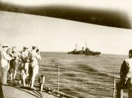 Asisbiz HMAS Sydney with HMS Ajax approaching Suda Bay Crete 14 Nov 1940 IWM E1150