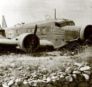 Asisbiz Junkers Ju 52 3mg4e Geschwader Stab KGrzbV1 1Z+BA wrecked on Maleme AF Crete 1941 02