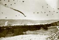 Asisbiz Junkers Ju 52 shot down by anti aircraft gunfire near Heraklion Crete 20th May 1941 IWM