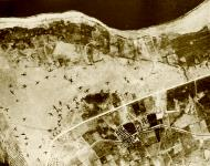 Asisbiz Maleme airfield Crete damaged and destroyed Junkers Ju 52s lay over the airfield 1941 Bundesarchiv