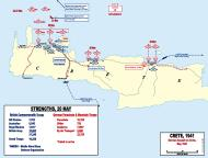 Asisbiz Map showing the Battle of Crete 1941 wiki 0A
