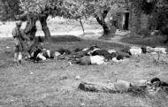 Asisbiz Massacre of Cretan civilians by German Paratroopers at Kondomari Crete 1941 Bund