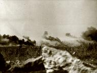 Asisbiz Palls of smoke rise above the Cretan countryside May 1941 IWM E3040E