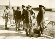Asisbiz The GOC in C inspecting the building of defences being made by British troops IWM E1180