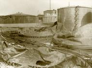 Asisbiz Burnt out Shell Oil reservoirs Holland May 1940 Bund 01