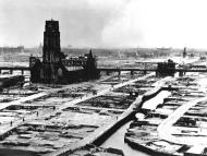 Asisbiz Devastation of Rotterdam by the Luftwaffe shows the city centre after the bombing May 1940 wiki 01