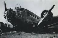 Asisbiz Fall Gelb Junkers Ju 52 3m shot down near Mook Netherlands 10th May 1940 NIOD