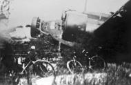 Asisbiz Fall Gelb Junkers Ju 52 3m shot down near Ypenburg Netherlands May 1940 NIOD1