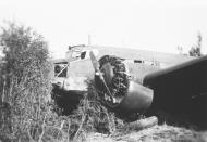 Asisbiz Fall Gelb Junkers Ju 52 3m shot down near Ypenburg Netherlands May 1940 NIOD2
