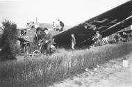 Asisbiz Junkers Ju 52 3m KGrzbV 9 KGrzbV 40 KGrzbV 50 KGrzbV 60 9P+GM shot down over Holland May 1940 NIOD2