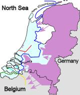 Asisbiz Map showing the Dutch situation just before the Rotterdam Blitz May 1940 wiki 0A