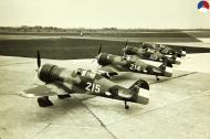 Asisbiz RNLAF Luchtvaartbrigade Fokker D.XXIs White 215 214 213 and 212 Holland 1939 web 01