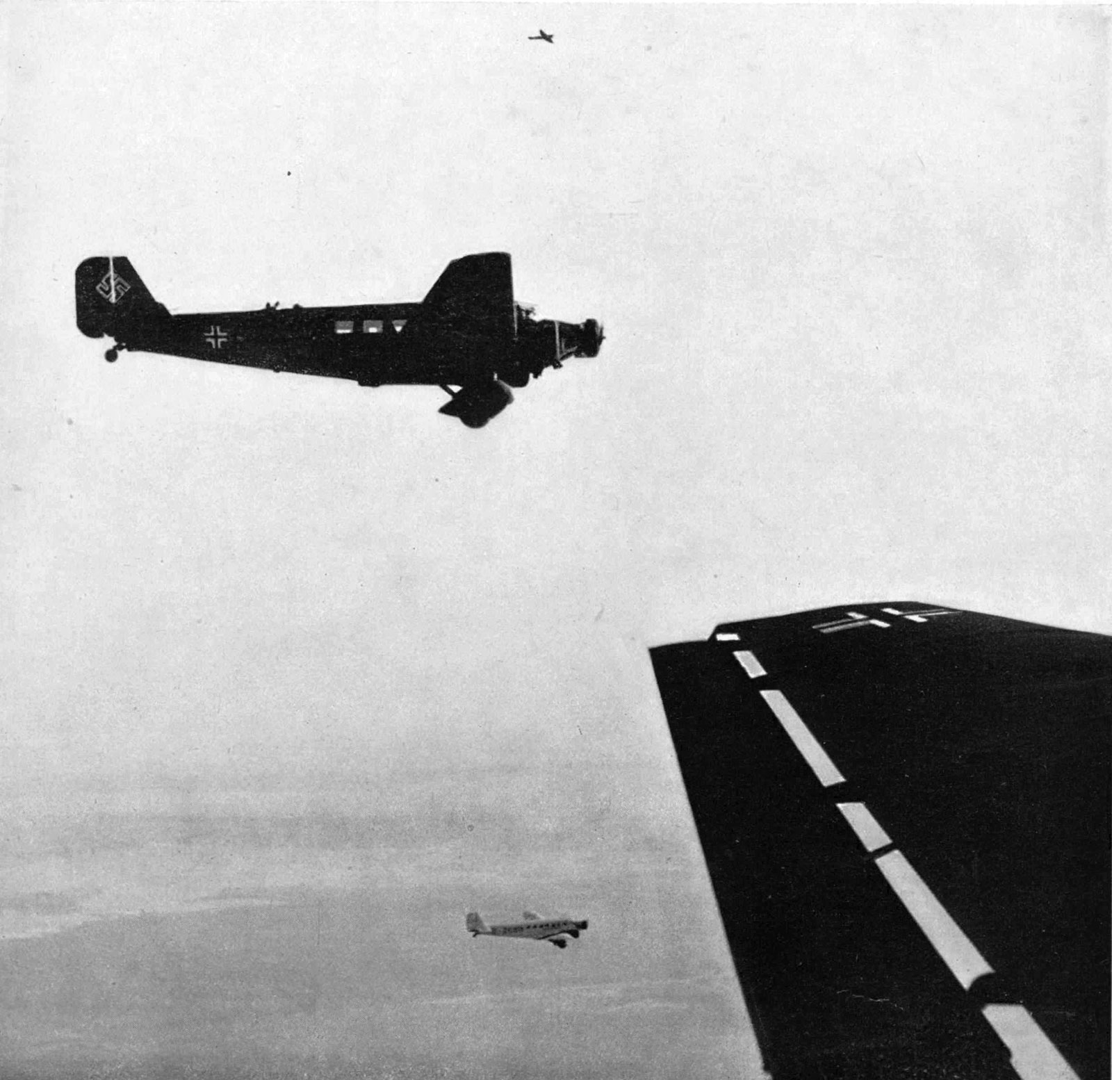 Invasion Of Poland Junkers Ju 52 Transporting High Ranking