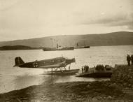 Asisbiz Nordfront Junkers Ju 52 3mW landed in Mosjoen harbor Norway ebay 01