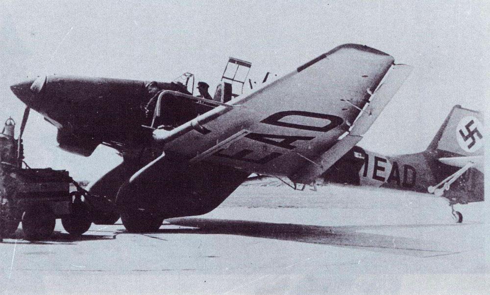 Junkers Ju 87A Stuka early production prototype D IEAD 02