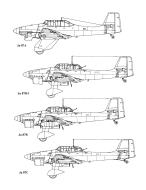 Asisbiz Diagram of Junkers Ju 87 Stuka blue print versions 0A