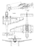 Asisbiz Diagram of Junkers Ju 87 Stuka blue print versions 0B