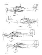 Asisbiz Diagram of Junkers Ju 87 Stuka blue print versions 0C