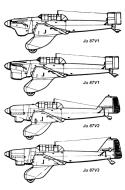 Asisbiz Diagram of Junkers Ju 87 Stuka prototype V series versions 0A