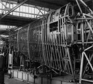 Asisbiz Junkers Ju 87 Stuka assembly line wing structure Dessau plant 01