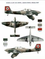 Asisbiz Junkers Ju 87A Stuka early production prototype D IEAU 0A
