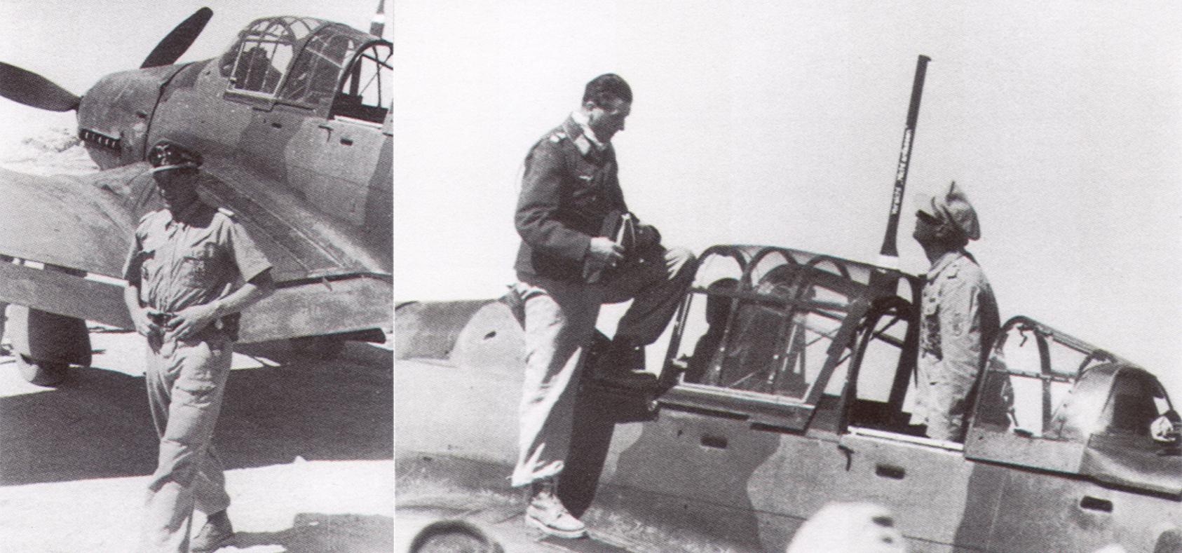 Junkers Ju 87D3 Stuka Geschwader Stab StG3 (S7+AA) Walter Sigel Eygpt 1942 02