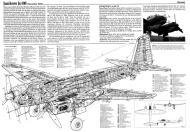 Asisbiz Artwork technical drawing Junkers Ju 88 cutaway 0A