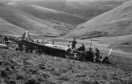 Asisbiz Junkers Ju 88A force landed near Mallwyd Wales on a raid to Liverpool Aug 31 1940 01