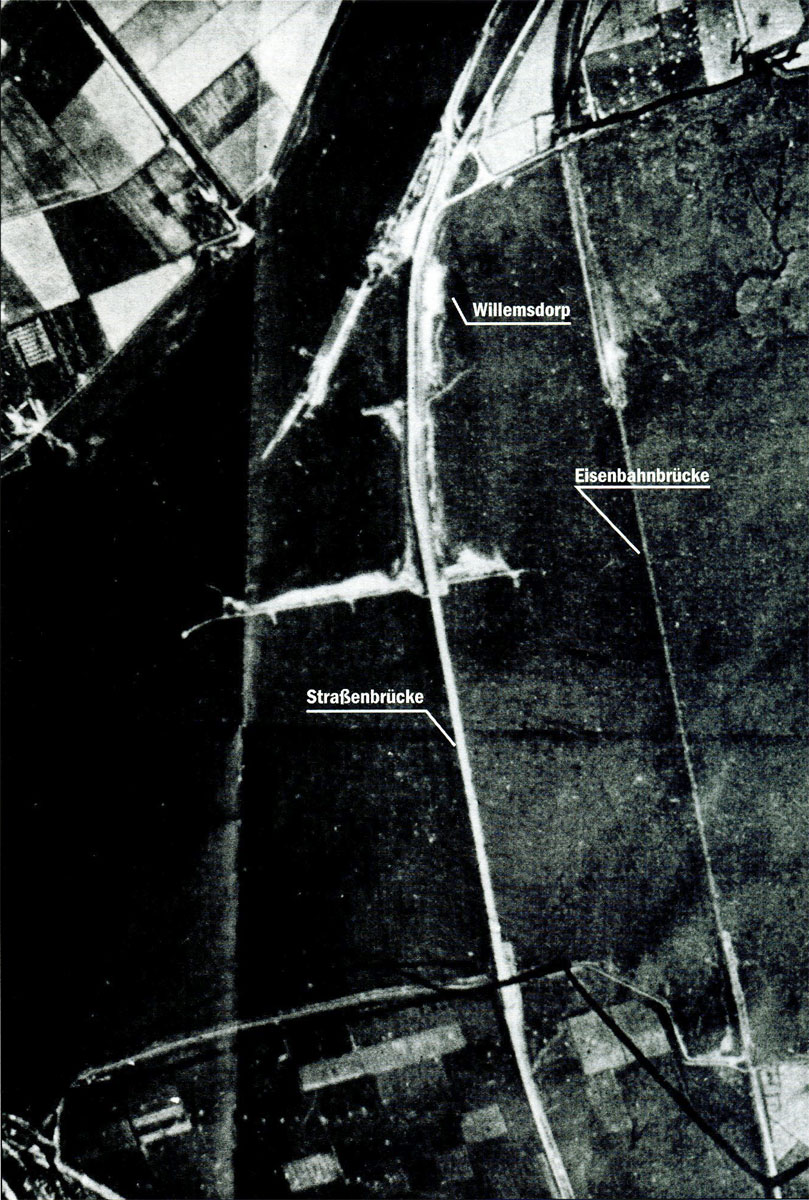 Artwork showing a mission map of target area before being hit by AAA 01