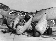Asisbiz A partially destroyed Junkers Ju 88G NJG2 destroyed 1945 02
