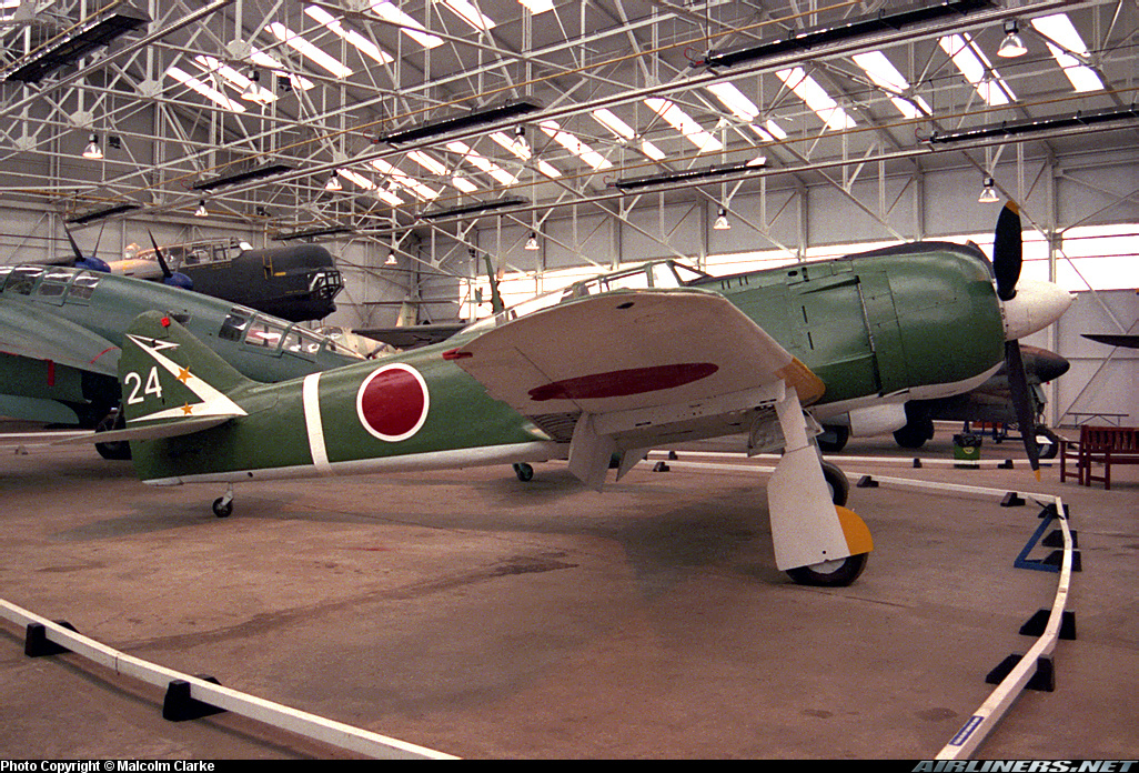 Kawasaki Ki 100 1b Tony cn 16336 Aerospace Museum RAF Cosford 01