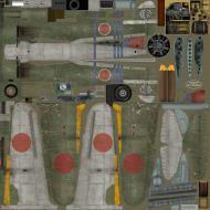 Asisbiz IL2 TA Ki 100 I Otsu 111 Sentai 1 Chutai 3 Stipes Nagoya Japan 1945