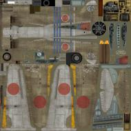 Asisbiz IL2 TA Ki 100 I Otsu 111 Sentai 1 Chutai 4 Stipes Nagoya Japan 1945