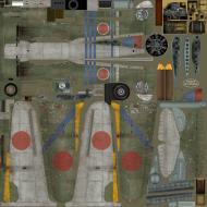 Asisbiz IL2 TA Ki 100 I Otsu 111 Sentai 1 Chutai Maj Hinoki Nagoya Japan 1945