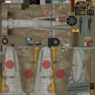 Asisbiz IL2 TA Ki 100 I Otsu 111 Sentai 2 Chutai W10 Nagoya Japan 1945