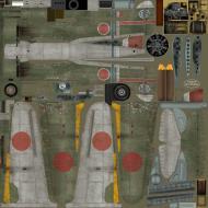 Asisbiz IL2 TA Ki 100 I Otsu 111 Sentai 2 Chutai W80 Mamoru Tatsuda Gifu Japan 1945 NC