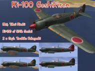 Asisbiz IL2 B7 Ki 100 244 Sentai Red Tembico Kobayashi Japan 1945 V0A