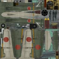 Asisbiz IL2 GB Ki 100 244 Sentai 1 Chuntai W32 Japan 1945