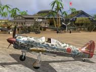 Asisbiz IL2 GB Ki 100 244 Sentai 2 Chubtai R24 Tembico Kobayashi Japan 1945 V0A