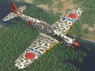 Asisbiz IL2 GB Ki 100 244 Sentai 2 Chubtai R24 Tembico Kobayashi Japan 1945 V0B