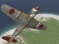Asisbiz IL2 GB Ki 100 244 Sentai 2 Chubtai R24 Tembico Kobayashi Japan 1945 V0C