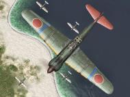 Asisbiz IL2 GB Ki 100 244 Sentai Blue 68 Tembico Kobayashi Japan 1945 V0B