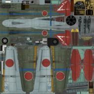Asisbiz IL2 GB Ki 100 244 Sentai Blue 68 Tembico Kobayashi Japan 1945