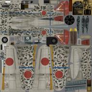 Asisbiz IL2 GB Ki 100 244 Sentai R24 Tembico Kobayashi Japan red fin 1945