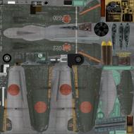 Asisbiz IL2 GB Ki 100 59 Sentai 3 Chutai White 022 Japan 1945