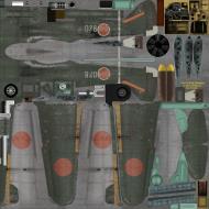 Asisbiz IL2 GB Ki 100 59 Sentai 3 Chutai White 078 Japan 1945