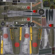 Asisbiz IL2 IF Ki 100 I Kou 59 Sentai 2 Chutai W177 Omura Kyushuata Japan 1945