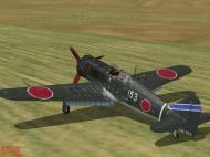 Asisbiz IL2 JK Ki 100 59 Sentai 3 Chutai White 153 Naoyuki Ogata Japan 1945 V0D
