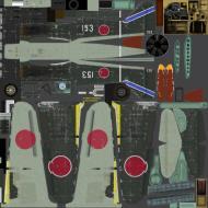 Asisbiz IL2 JK Ki 100 59 Sentai 3 Chutai White 153 Naoyuki Ogata Japan 1945