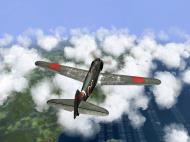 Asisbiz IL2 RO Ki 100 59 Sentai W47 gets ready to pounce on B 29 Superfortress V06